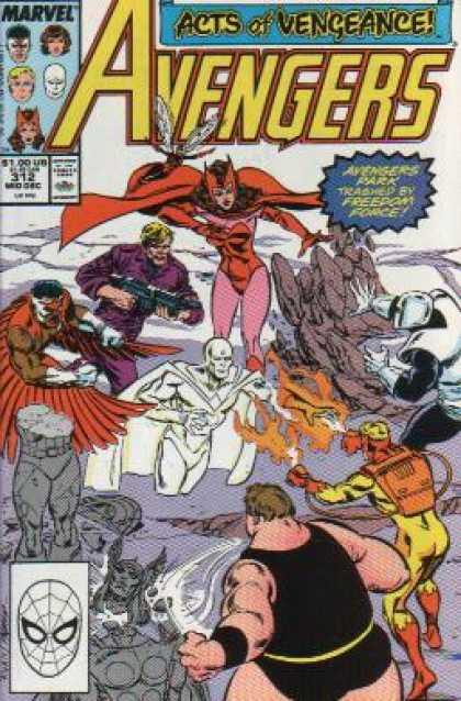 Avengers #312, комікси про Месників, Марвел комікси
