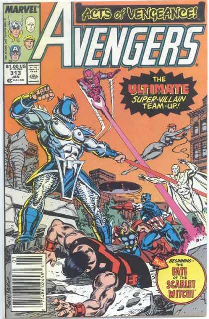 Avengers #313, комікси Марвел, читати комікси українською