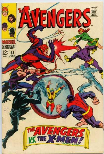 Avengers #53, Месники, Капітан Америка, комікси Марвел