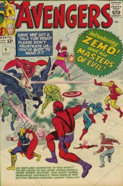 Avengers #6, Месники, Капітан Америка, комікси Марвел