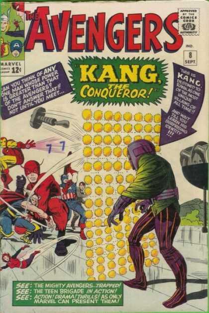Avengers #8, Месники, Капітан Америка, комікси Марвел