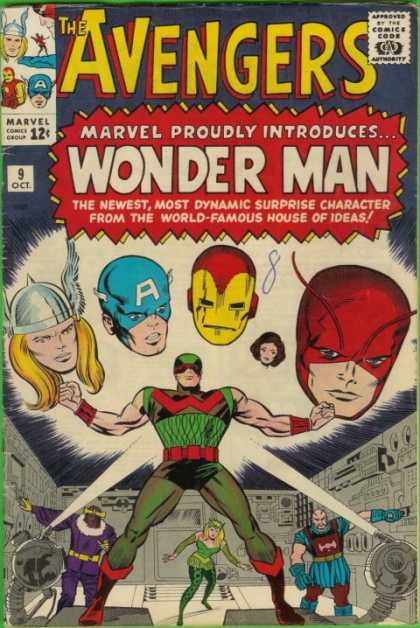 Avengers #9, Месники, Капітан Америка, комікси Марвел