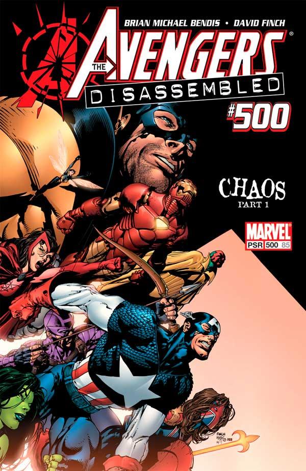 Мстители, комиксы, Avengers 500