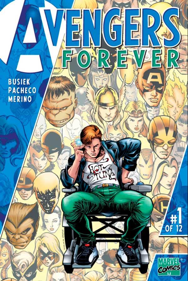 Avengers_Forever_Vol_1_1, комікси месники, комиксы мстители