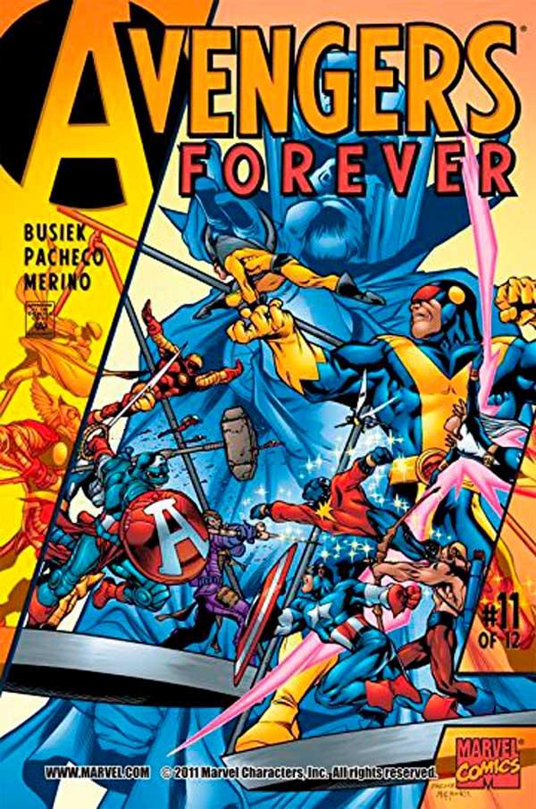 Avengers_Forever_Vol_1_11, комікси месники, комиксы мстители