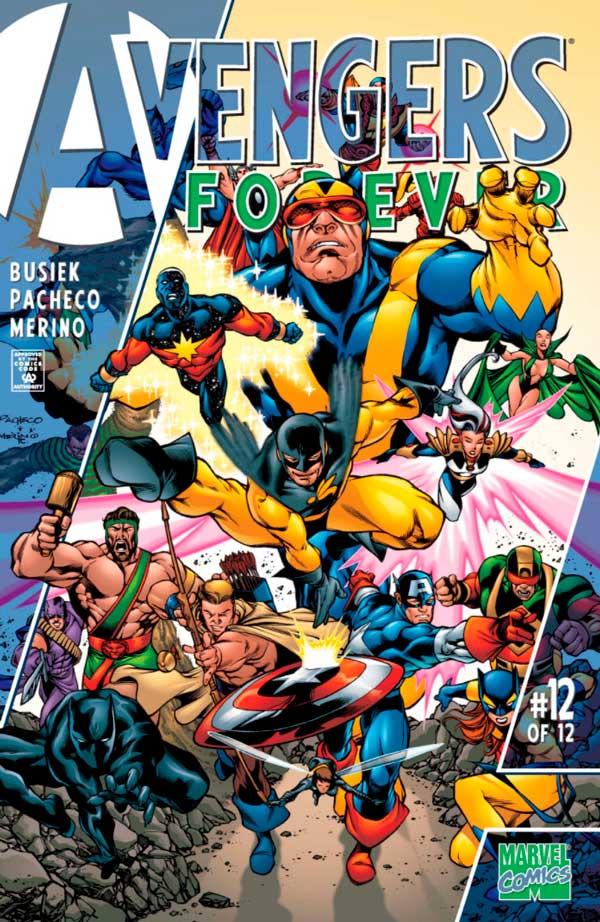 Avengers_Forever_Vol_1_12, комікси месники, комиксы мстители
