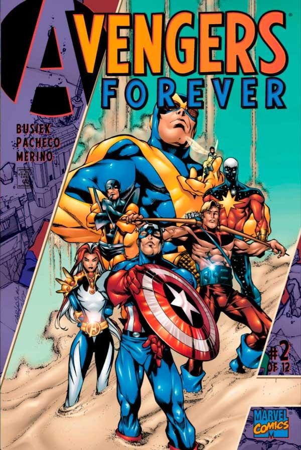 Avengers_Forever_Vol_1_2, комікси месники, комиксы мстители