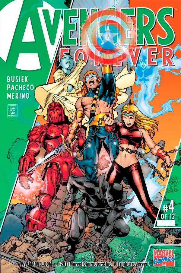 Avengers_Forever_Vol_1_4, комікси месники, комиксы мстители