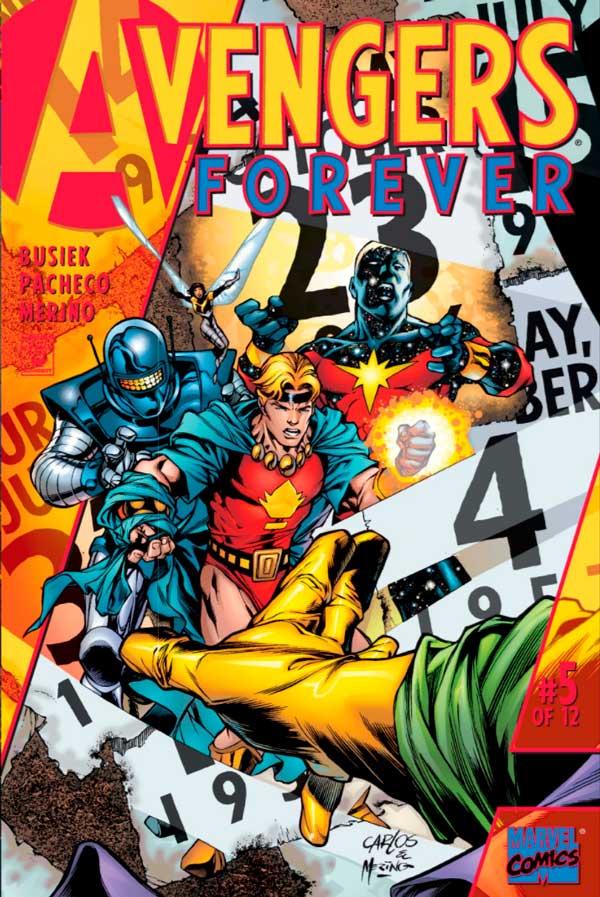 Avengers_Forever_Vol_1_5, комікси месники, комиксы мстители