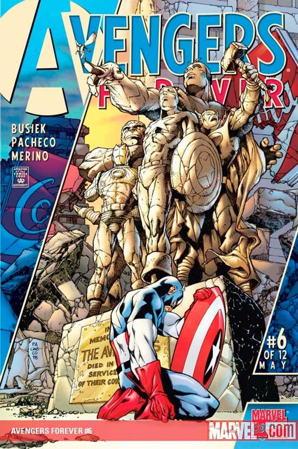 Avengers_Forever_Vol_1_6, комікси месники, комиксы мстители