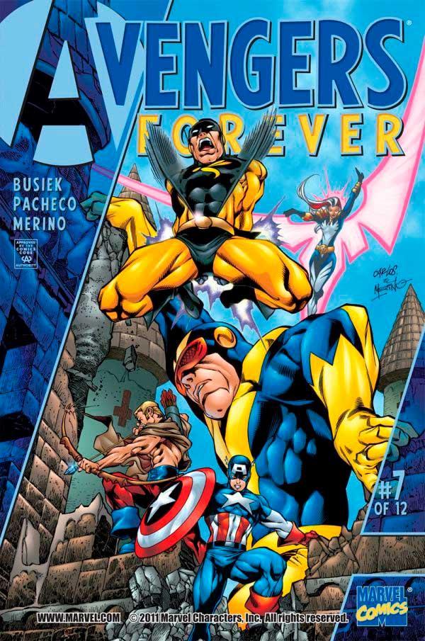 Avengers_Forever_Vol_1_7, комікси месники, комиксы мстители