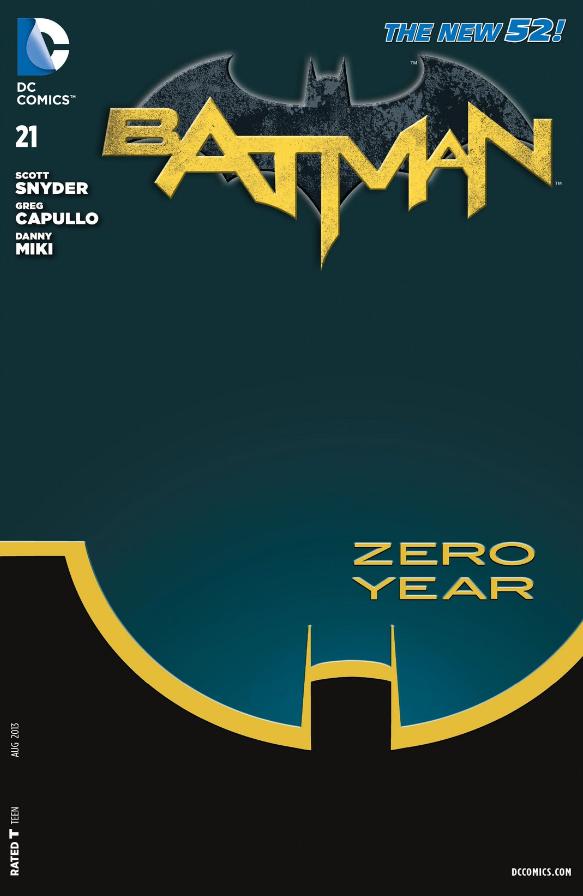 Комікси, Бетмен нульовий рік, Batman: Zero Year, Скотт Снайдер, New 52