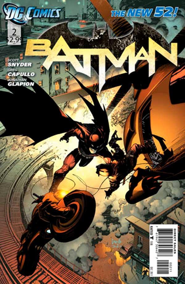 New-52, Batman, комікси про бетмена