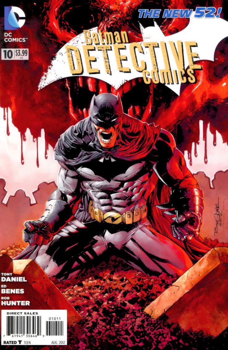 Detective Comics #10 New52, комікси про бетмена