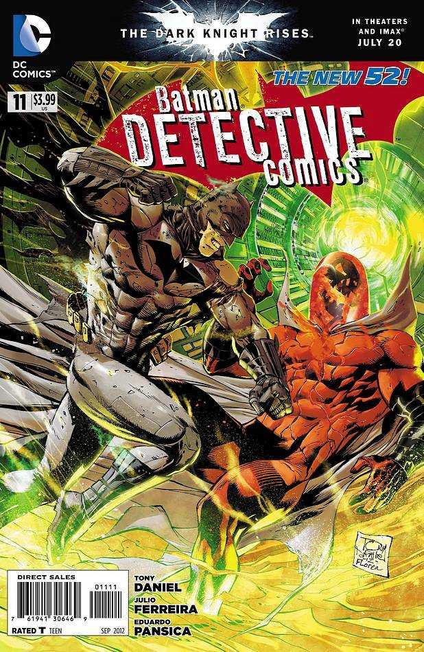 Detective Comics #11 New52, комікси про бетмена