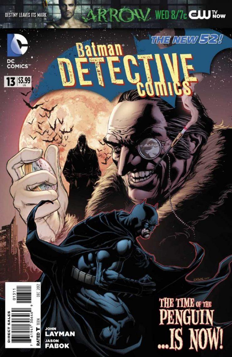 Detective Comics #13 New52, комікси про бетмена