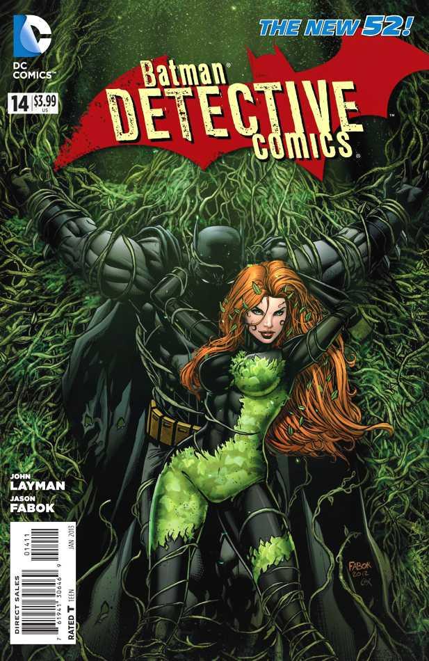 Detective Comics #14 New52, комікси про бетмена