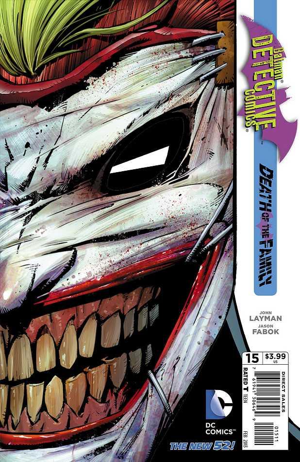 Detective Comics #15 New52, комікси про бетмена