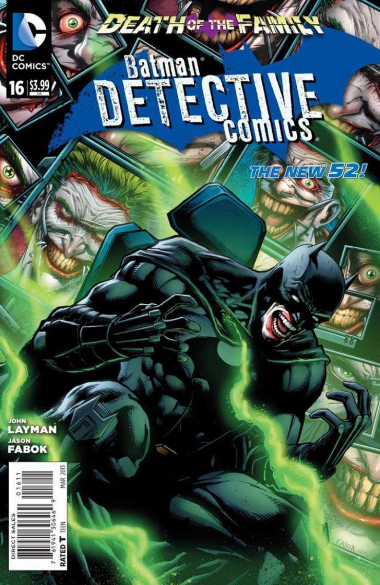 Detective Comics #16 New52, комікси про бетмена