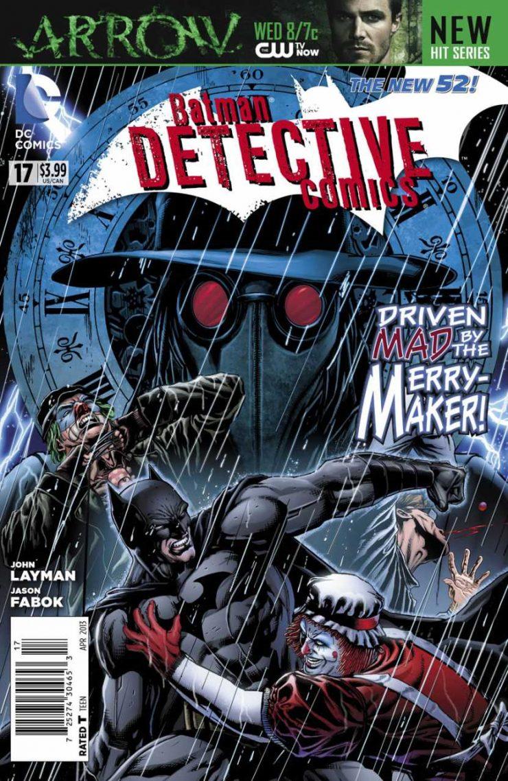 Detective Comics #17 New52, комікси про бетмена