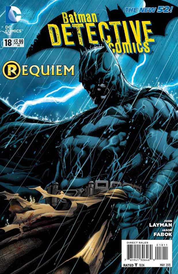 Detective Comics #18 New52, комікси про бетмена