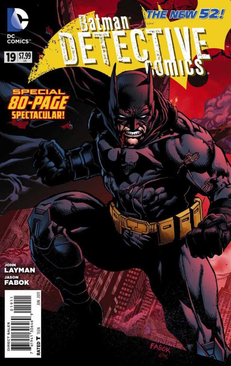 Detective Comics #19 New52, комікси про бетмена
