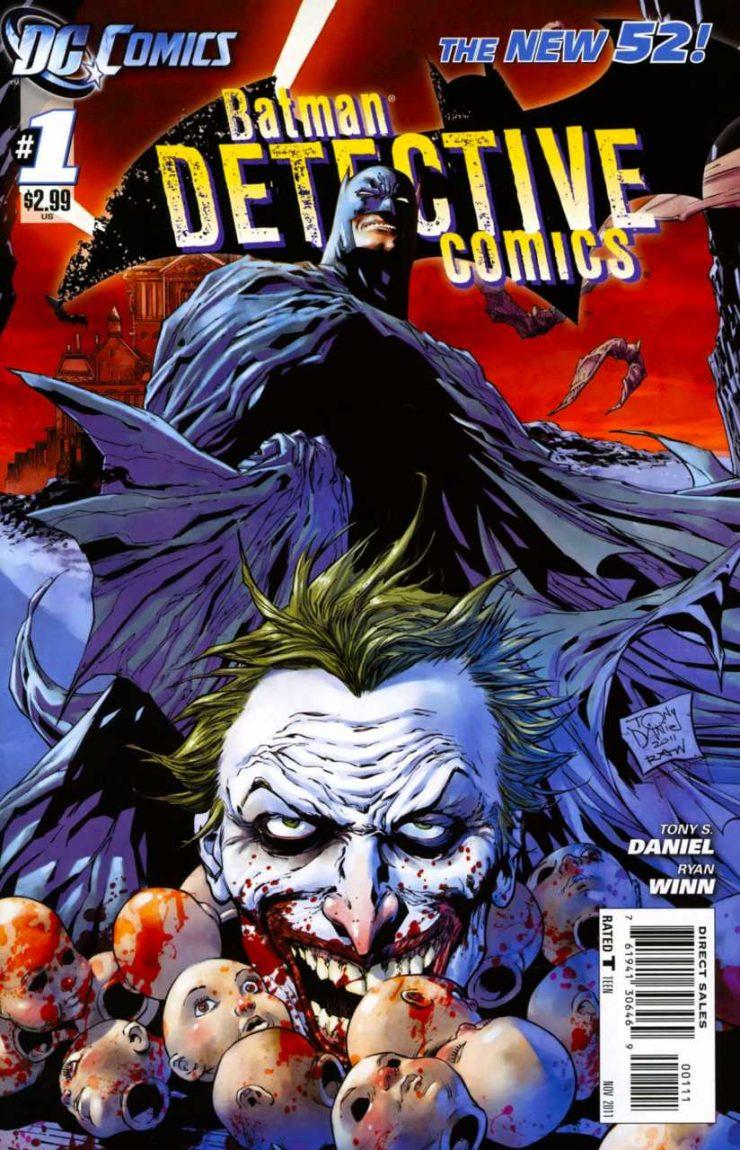 Detective Comics #1 New52, комікси про бетмена