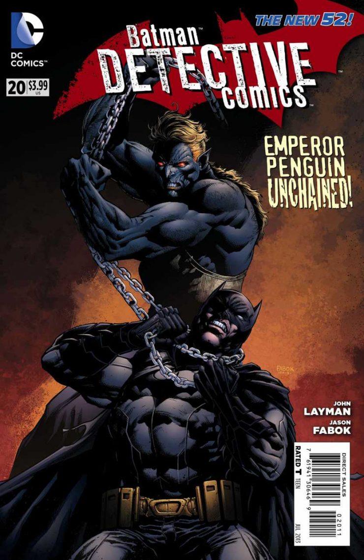 Detective Comics #20 New52, комікси про бетмена
