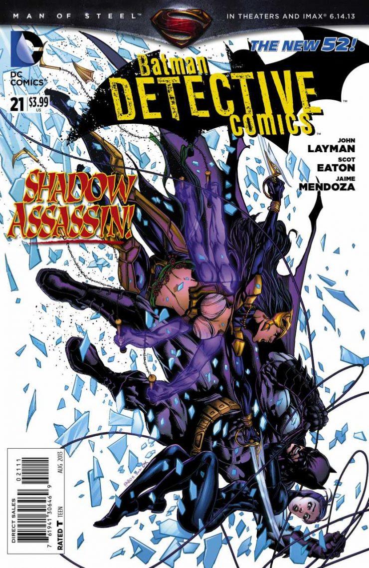 Detective Comics #21 New52, комікси про бетмена