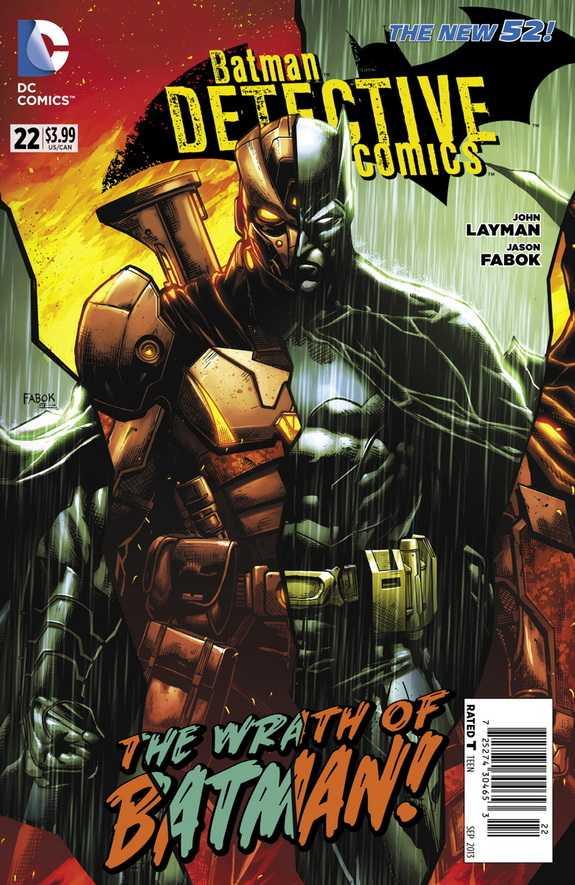 Detective Comics #22 New52, комікси про бетмена