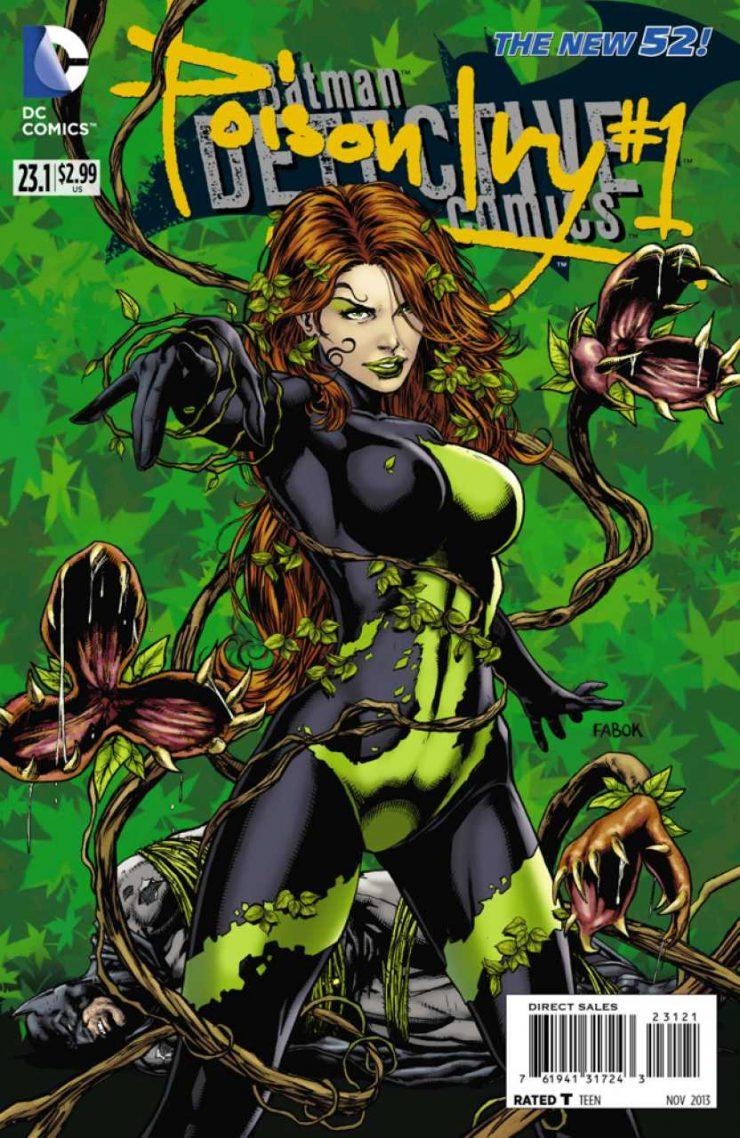 Detective Comics #23.1 New52, комікси про бетмена