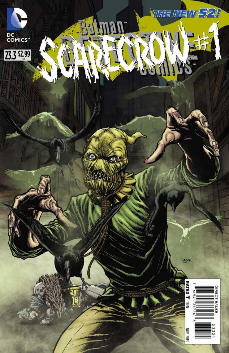 Detective Comics #23.3 New52, комікси про бетмена
