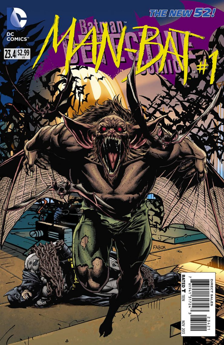Detective Comics #23.4 New52, комікси про бетмена
