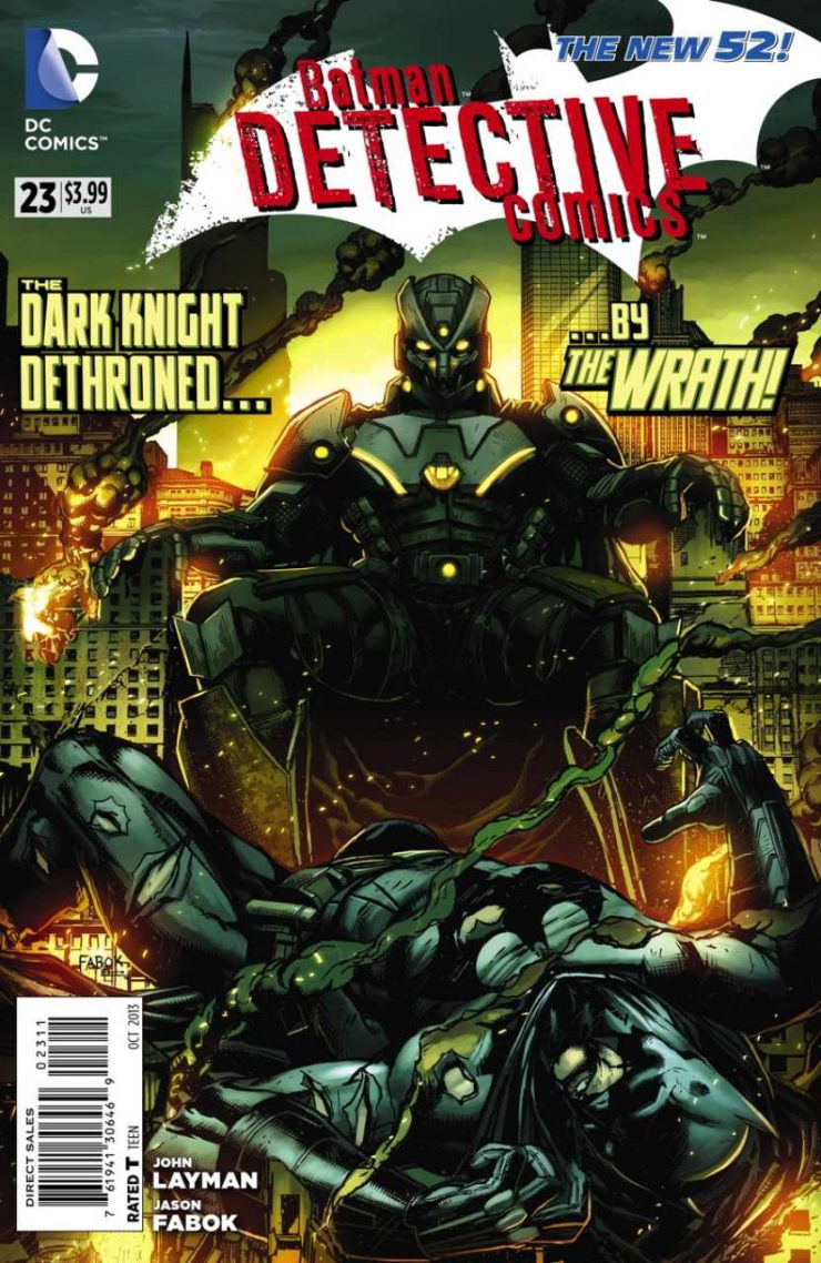 Detective Comics #23 New52, комікси про бетмена