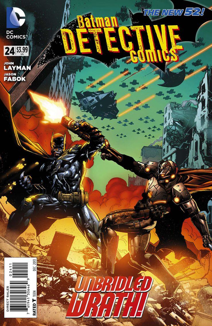 Detective Comics #24 New52, комікси про бетмена