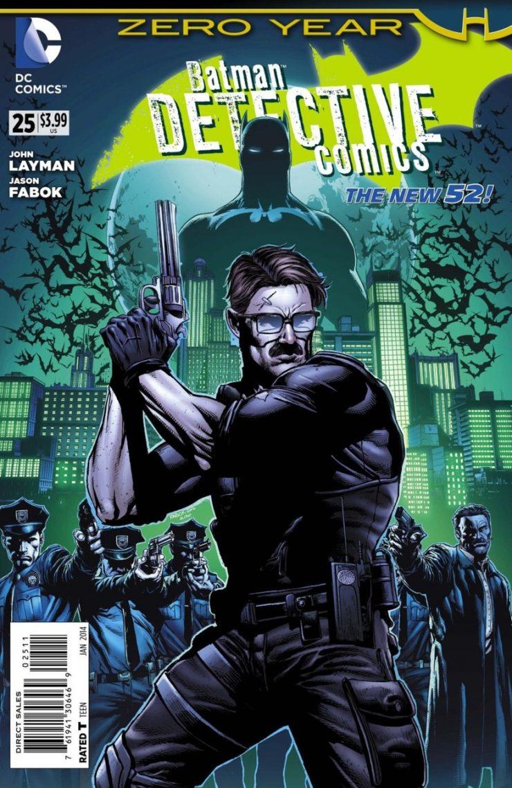 Detective Comics #25 New52, комікси про бетмена