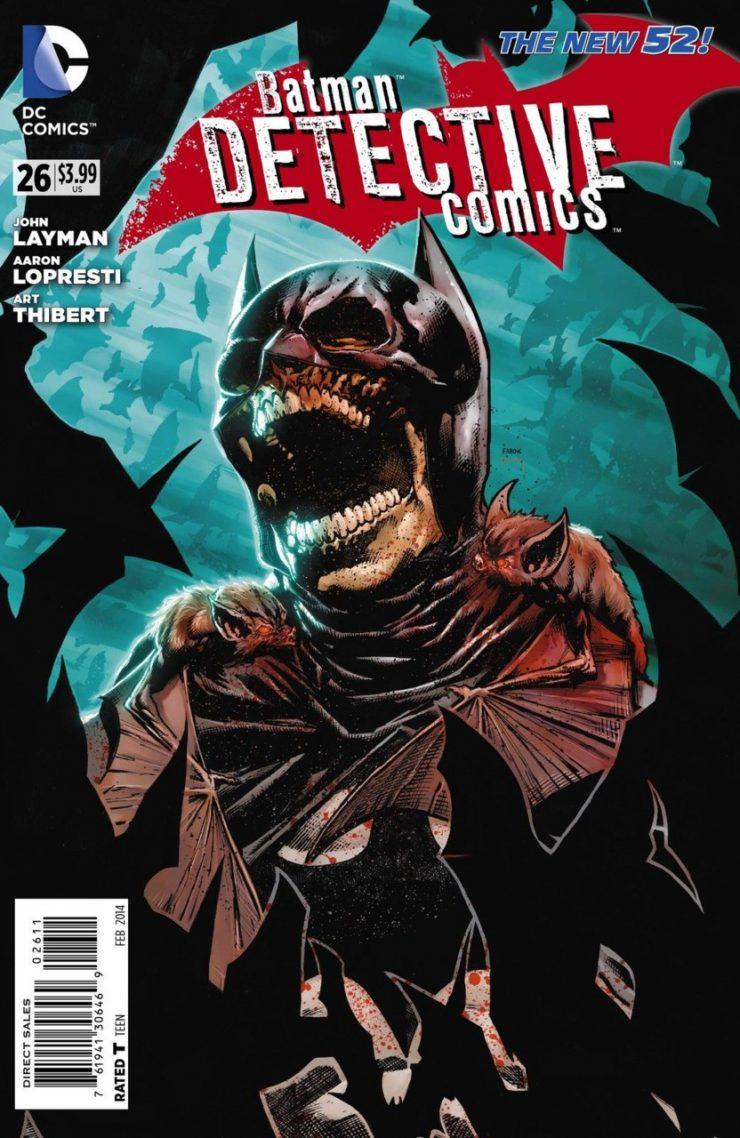 Detective Comics #26 New52, комікси про бетмена