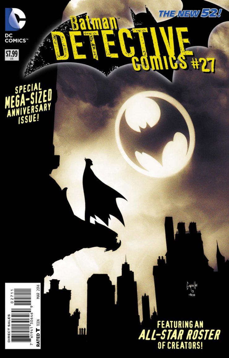 Detective Comics #27 New52, комікси про бетмена