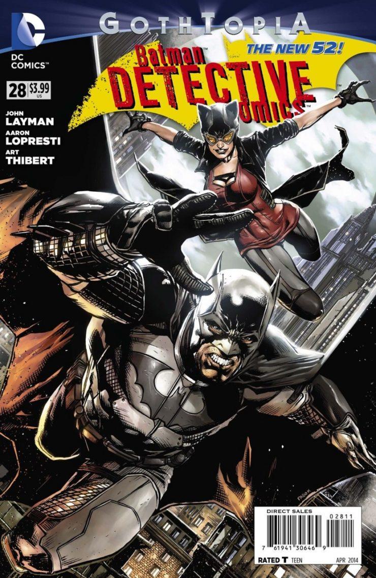 Detective Comics #28 New52, комікси про бетмена