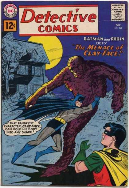 Detective Comics #298, комікси про бетмена