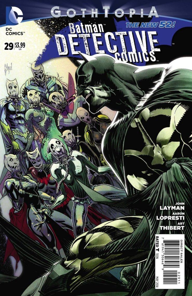 Detective Comics #29 New52, комікси про бетмена