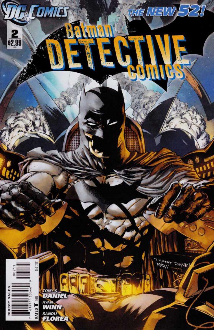 Detective Comics #2 New52, комікси про бетмена