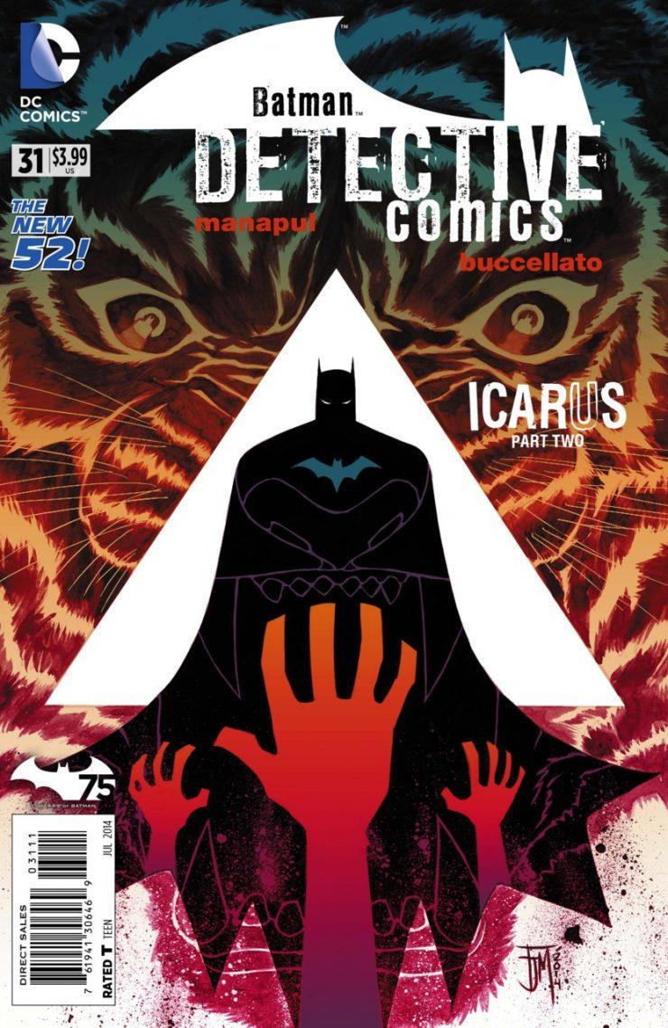 Detective Comics #31 New52, комікси про бетмена