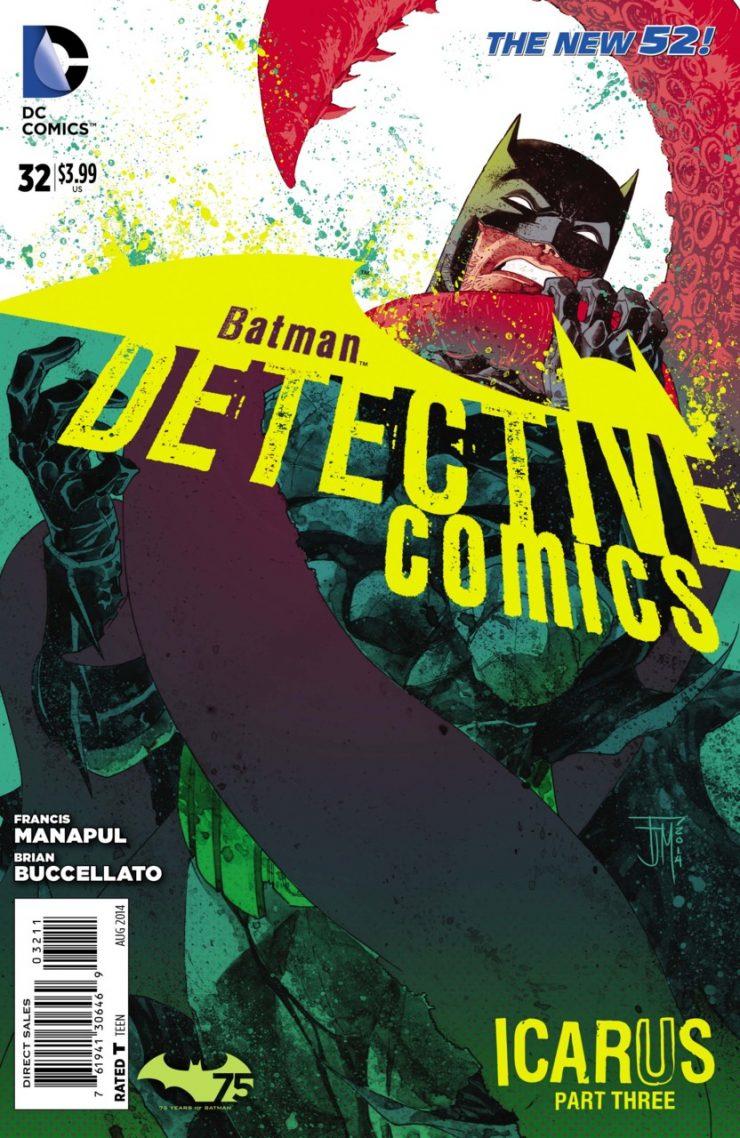 Detective Comics #32 New52, комікси про бетмена