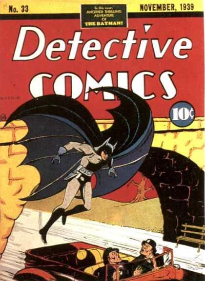 Detective Comics #33, комікси про бетмена, темний лицар українською
