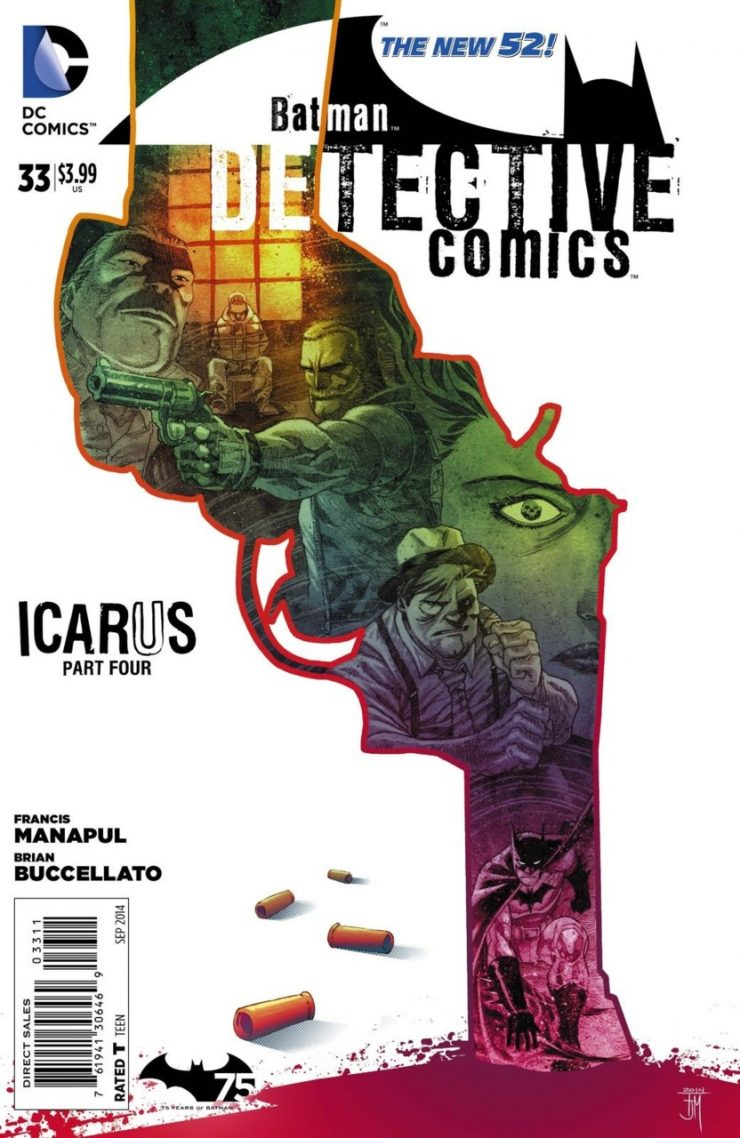 Detective Comics #33 New52, комікси про бетмена