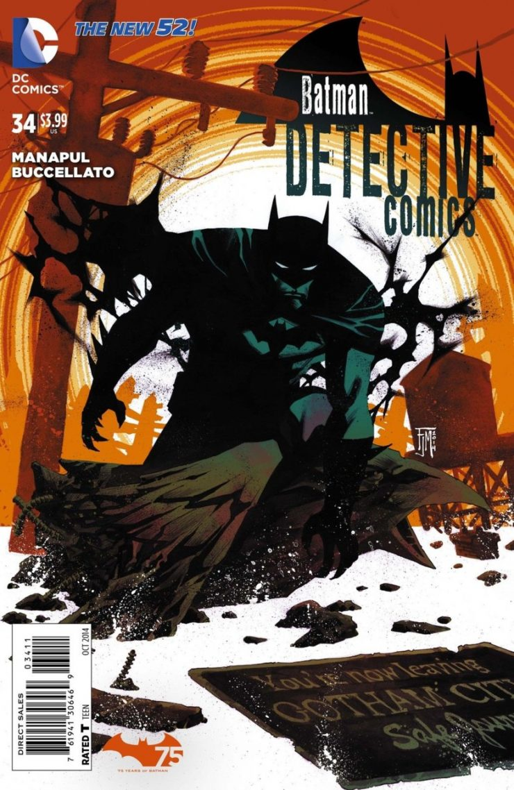 Detective Comics #34 New52, комікси про бетмена