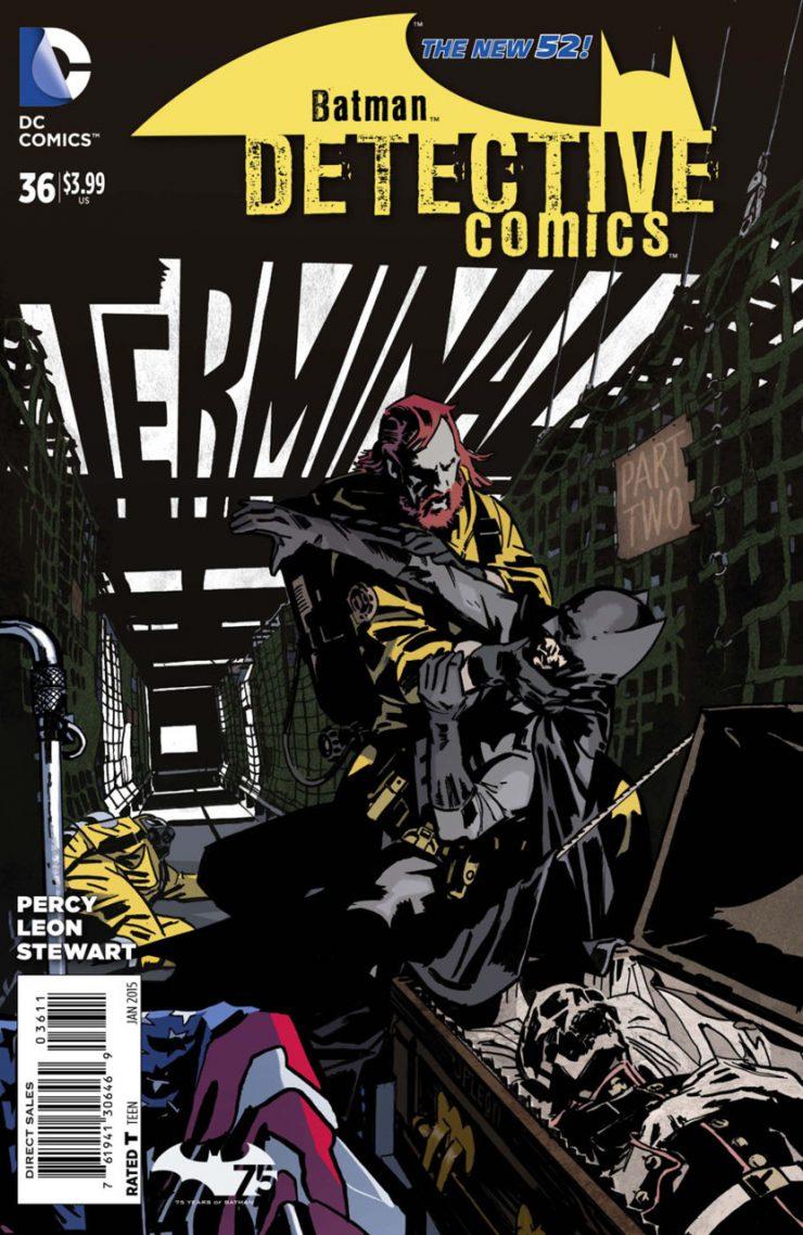 Detective Comics #36 New52, комікси про бетмена