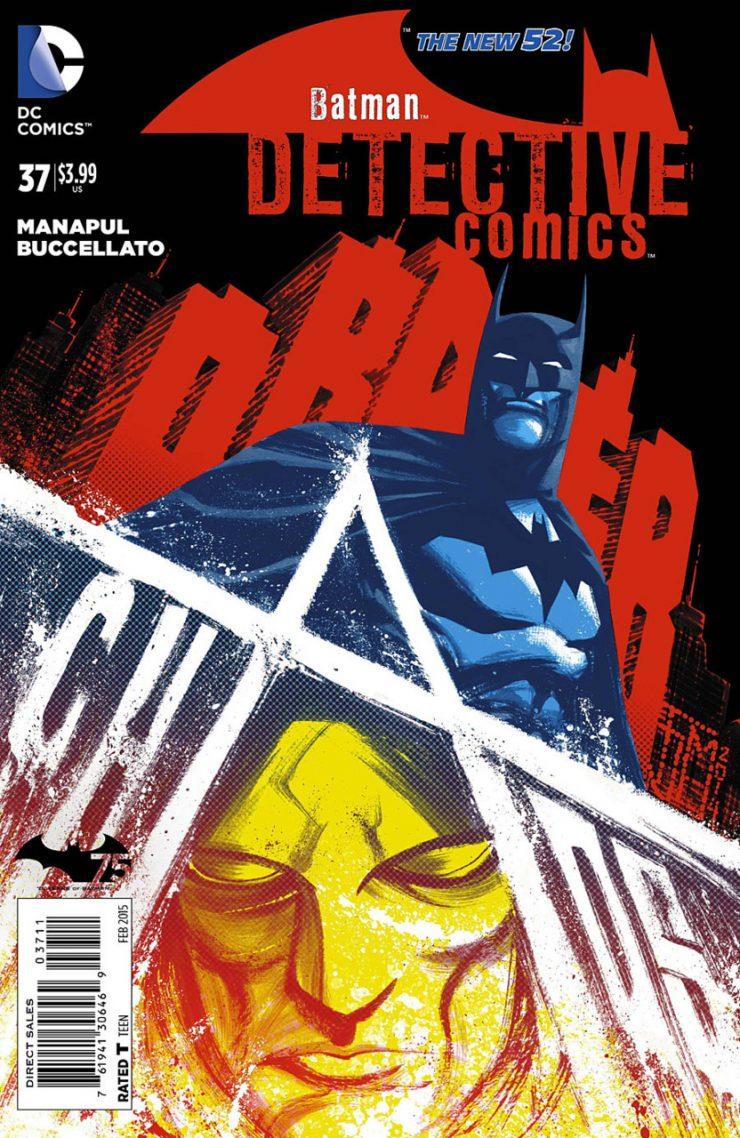Detective Comics #37 New52, комікси про бетмена