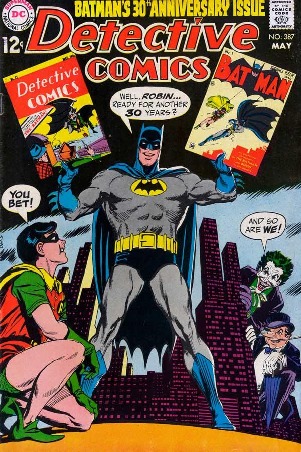 Detective Comics #387, комікси про бетмена